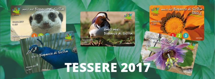 Bioparco di Sicilia - Tessere 2017